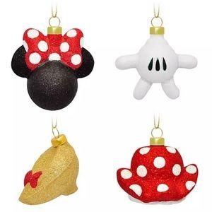 ❤️ 💛Minnie Mouse Icon Disney Ornament - Set of 4